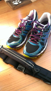 New shoes and Spibelt from Running Room