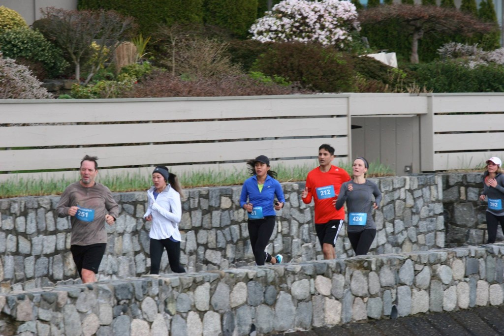 West Van Run - photo by Carmen Marin