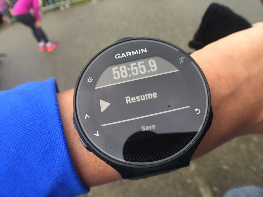 My first sub-1 hour time!!!