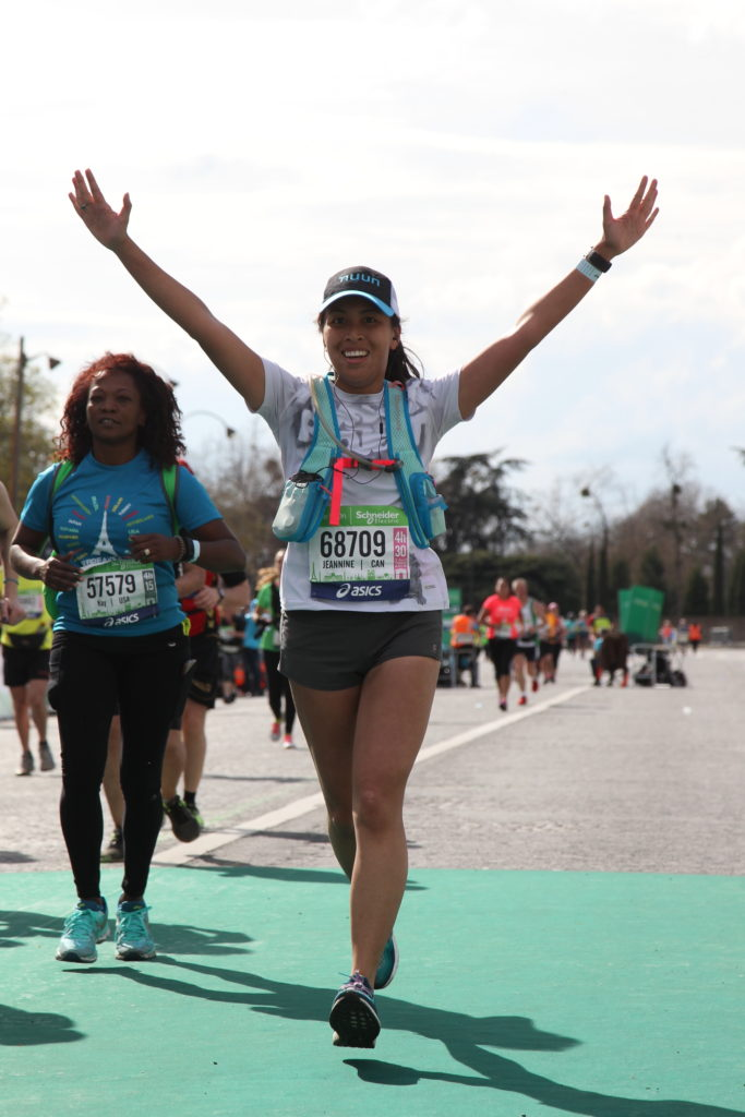 Running the Paris Marathon