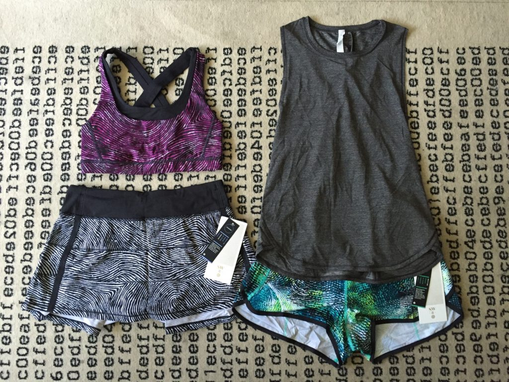 Lululemon Seawheeze Store haul