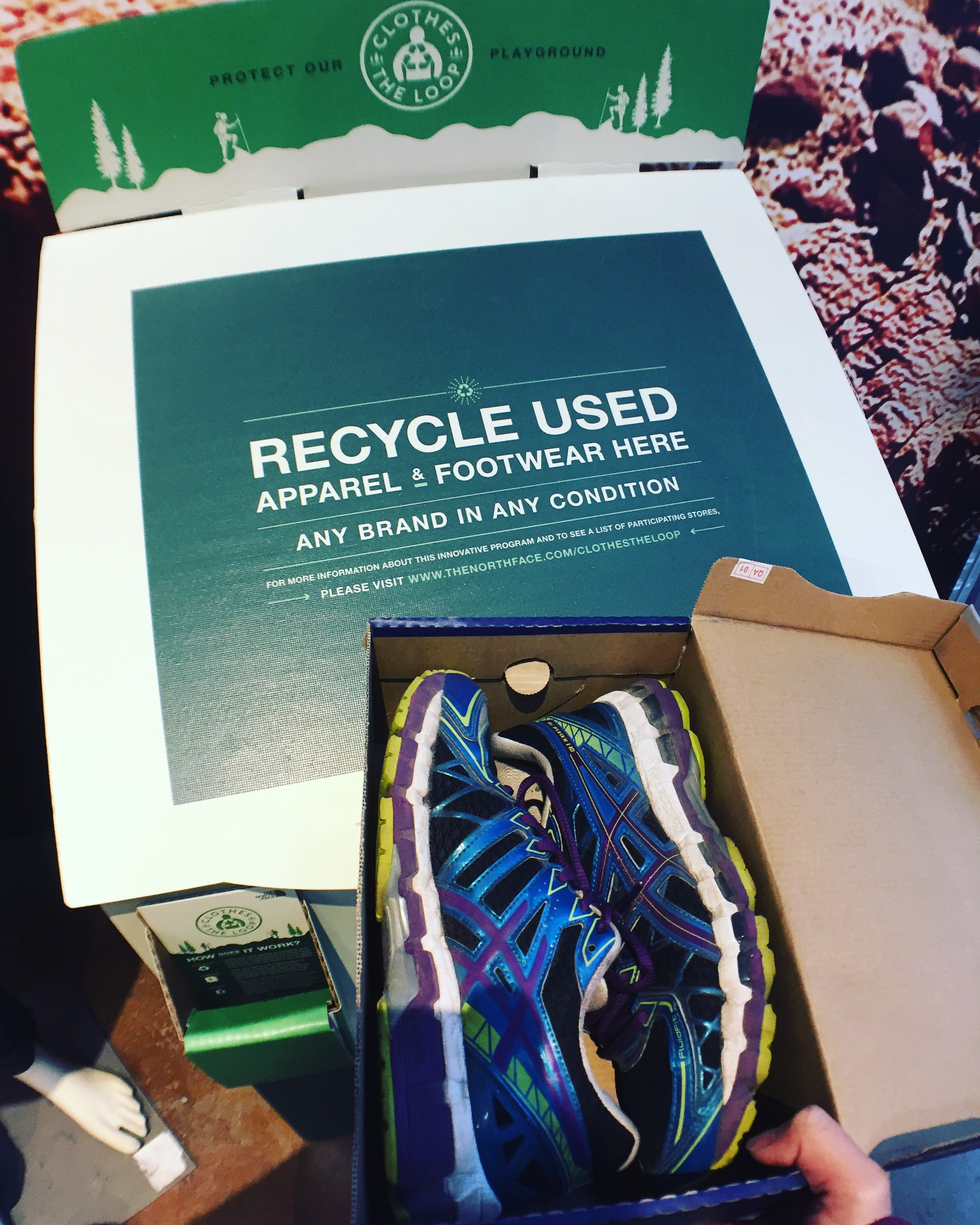 Donate Used Running Shoes Vancouver