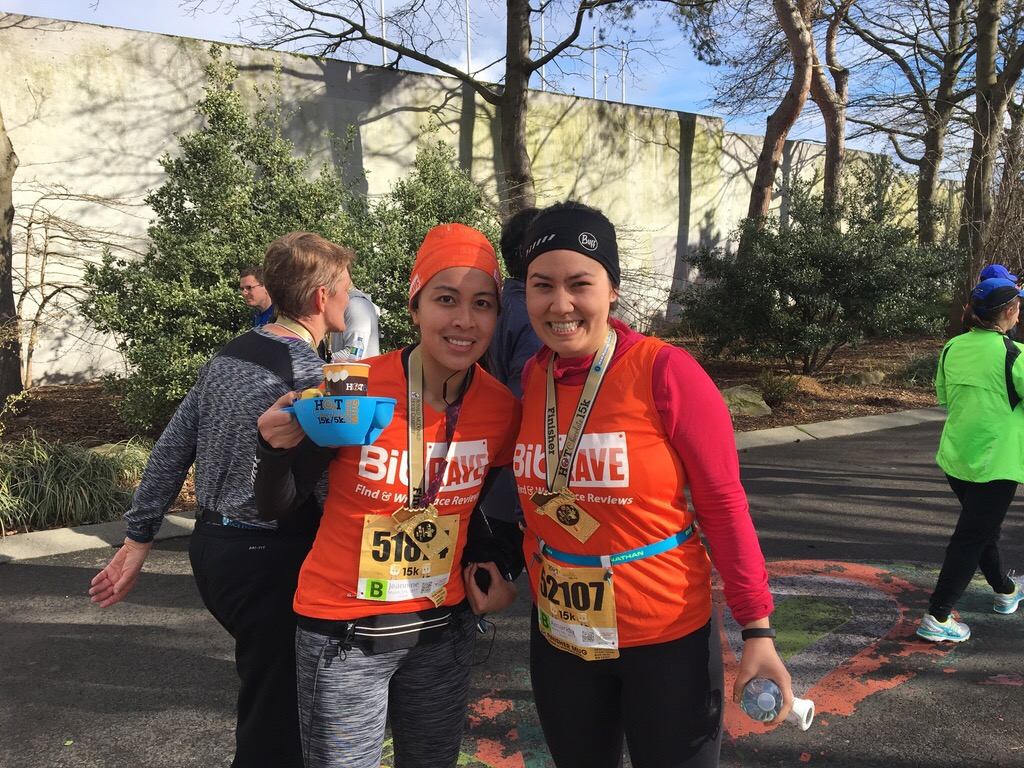 Race Recap: Hot Chocolate 15K and 5K Seattle - Everything But Weddings