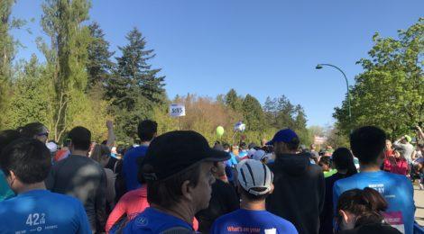 BMO Vancouver Marathon - courtesy Jeannine Avelino