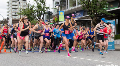 Hot Race: West Van Run Summer